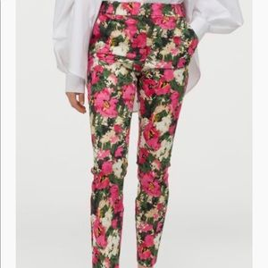 NWT Pink Floral Slacks